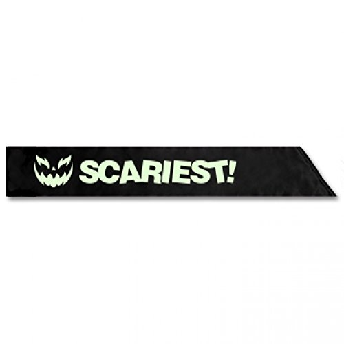 Haloween Costume Contest: Adult Satin Party Sash