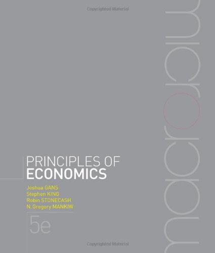 PRINCIPLES OF ECONOMICS - 5TH EDITION