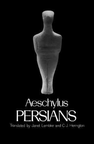 Persians (Greek Tragedy in New Translations)