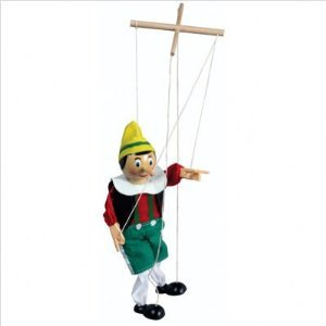 Pinocchio Wooden Marionette from The Original Toy Company