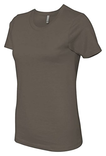 Next Level Signature Style Jersey T-Shirt, Light Olive, X-Small (Pack3)