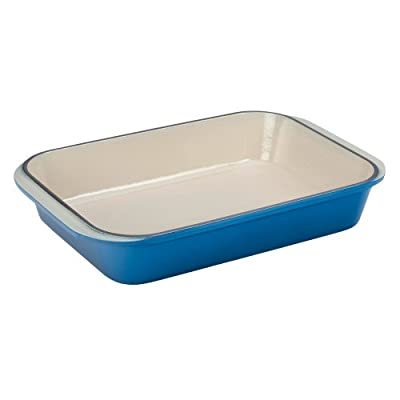 Le Creuset Enameled Cast-Iron 15-3/4-by-10-3/4-Inch Rectangular Roaster