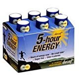 5-hour Energy Decaf, 6 - 2 oz Bottles