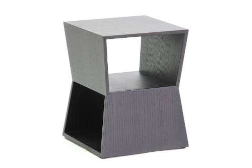 Cheap Baxton Studio Marche Wood Modern End Table, Black (CT-8021)