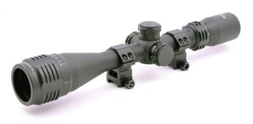 Hammers Illuminated Varmint Hunting Riflescope 4-16X40Ao W/ Weaver Scope Rings