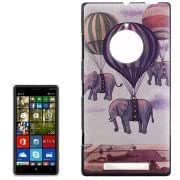 Elephant in the Balloon Pattern Hard Case for Nokia Lumia 830