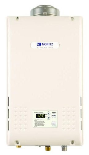 Noritz Nrc98-Dvng Indoor Direct Vent 9.8-Gpm Natural Gas Condensing Tankless Water Heater
