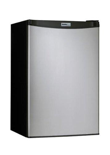 Danby DCR122BSLDD 4.3 Cuft. Refrig Push Button Defrost Separate Freezer Section