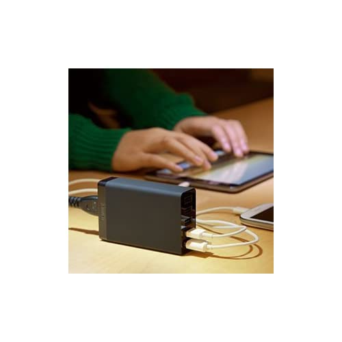 Anker 40W 5ポート USB急速充電器 ACアダプタ PowerIQ搭載 iPhone6/iPhone5C/5S/5/4S/4/iPod/iPad/Xperia/GALAXY/ウォークマン等対応