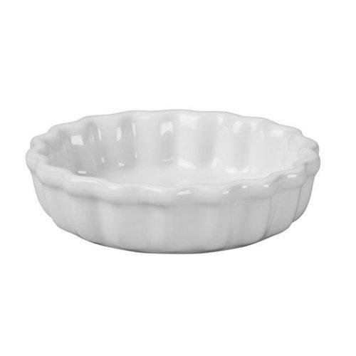 Le Creuset Stoneware 7-Ounce Petite Tart Dish, White