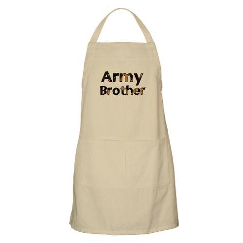 Cafepress Army Brother Camo BBQ Apron - Standard