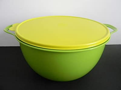 Tupperware Thatsa Bowl Huge Big Bowl Mega 42 Cups Green by Tupperware