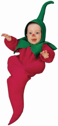 Charades Costumes Boys Chili Pepper Bunting Infant Costume