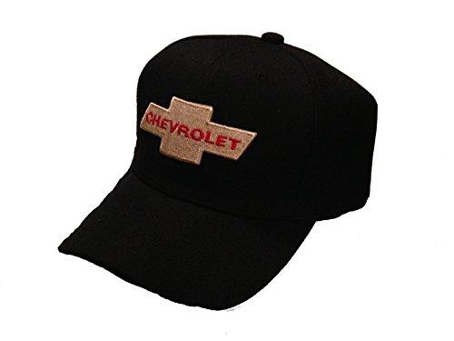 chevrolet-chevy-baseball-cap-hat-black-red-lettering-new