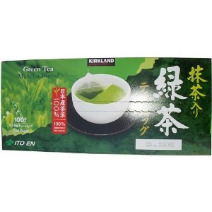 Kirkland Signature Ito En Matcha Blend, 100% Japanese Green Tea Leaves, 100 T...