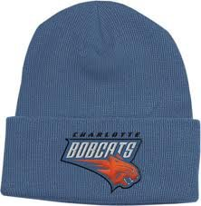 Buy Charlotte Bobcats Blue Beanie Hat - NBA Cuffed Knit Toque Cap by NBA