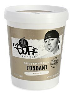 Duff Decorating Fondant Tub White 2 Lb (Pack Of 3)