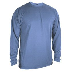 WICKERS Mens Moisture Wicking Long Sleeve T-Shirt by Wickers