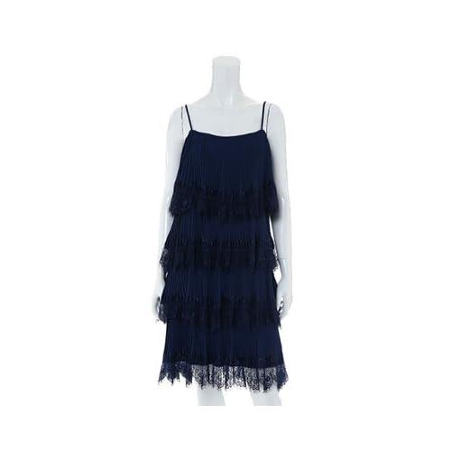 (エフデ)ef-de dress レースティアードキャミワンピース ネイビー 09