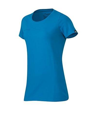 Mammut T-Shirt M Logo blau
