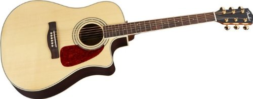 fender dg200sce acoustic electric guitar with rosewood back and sides natural used guitars for. Black Bedroom Furniture Sets. Home Design Ideas