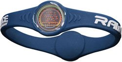 Rawlings Power Balance Wrist Band (Navy Blue, Large)