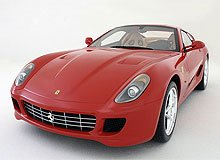 Ferrari 599 GTB Fiorano Die Cast Model - LegacyMotors Scale Model Cars