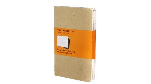 Set 3 quaderni a righe formato Pocket