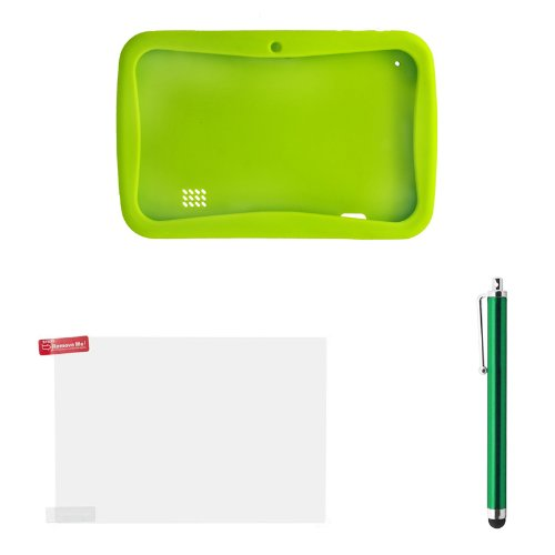 Rubber Protection Case for Kids 7 inch Touch Screen Tablet with Dual