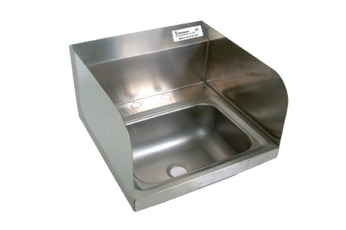 BK Resource BKHS-D-1410-SS Hand Sink w/ Side Splashes Bowl Size 14 x 10 x 5 NSF managing a scarce resource