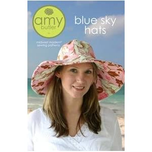 Amy Butler Blue Sky Hat Pattern By The Each