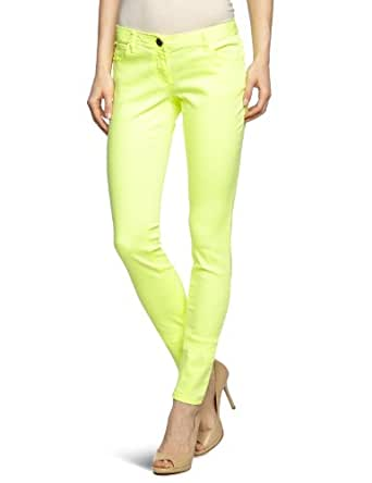 TOM TAILOR Denim Damen Hose 64009380071/extra skinny, Gr. 28/34, Gelb (3232 flashy yellow)
