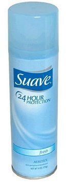 Suave Anti-Perspirant Deodorant Spray (12 Pieces) - Suave 24 Hour Protection Anti-Perspirant Deodorant Spray 6.0 Oz Reduces Underarm Wetness Fresh Scent Case Pack: 12