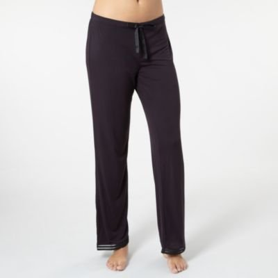 J by Jasper Conran-Black jersey pyjama bottoms-12