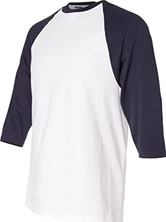 Buy ADULT HEAVYWEIGHT RAGLAN ¾ SLEEVE TEE by Anvil