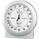 EMPEX (エンペックス) 温・湿度計 スーパーEX高品質温・湿度計 卓上用 EX-2767 シャインシルバー