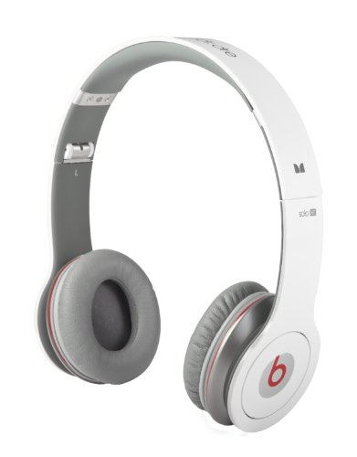 Monster Beats By Dr. Dre Solo Hd With Controltalk Headphones - White