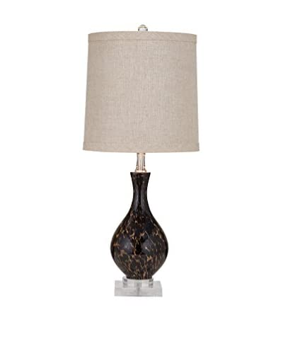 Bassett Mirror Co. Pembroke 1-Light Table Lamp, Tortoise