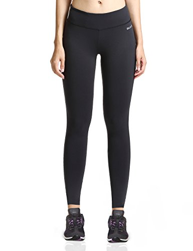 Baleaf Women's Ankle Legging Inner Pocket Non See-through Black Size S (Winter Sports Pants compare prices)