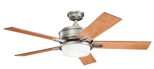 Kichler Lighting 300140Ap 52-Inch Talbot Ceiling Fan, Antique Pewter