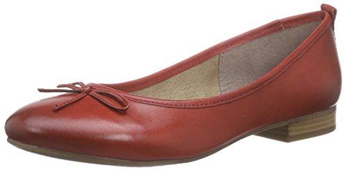 Tamaris22105 - Ballerine Donna , Rosso (Rot (CHILI 533)), 41