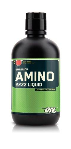Superior Amino Acid Liquid 2222-Optimum Nutrition Amino Acid Complex, (2 Pack) 32 fl oz