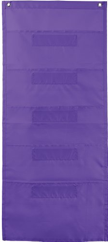 File Folder Storage: Purple Pocket Chart