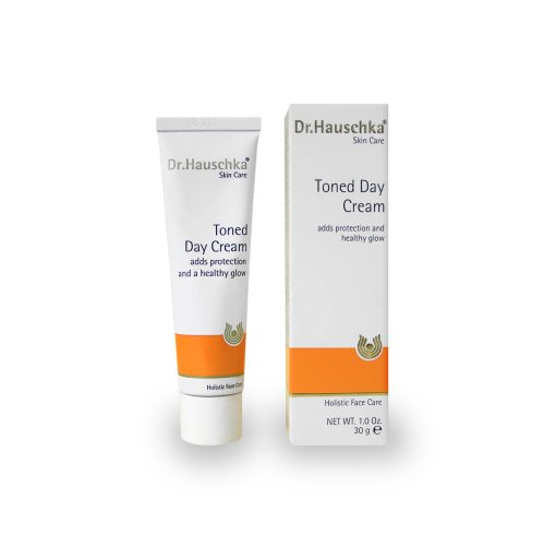 Dr. Hauschka Tinted Day Cream, 1 Fluid Ounce Sun SPF 40 Face Cream UVA/UVB 1.7oz