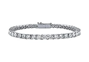 Diamond Tennis Bracelet : Platinum - 3.00 CT Diamonds