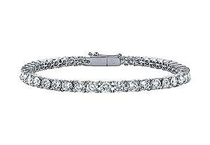 Diamond Tennis Bracelet : Platinum - 3.00 CT Diamonds