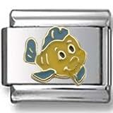 Flounder Disney Italian charm