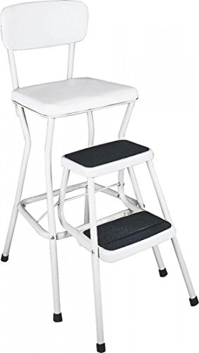 Chair/Step Stool (White) back-1032193