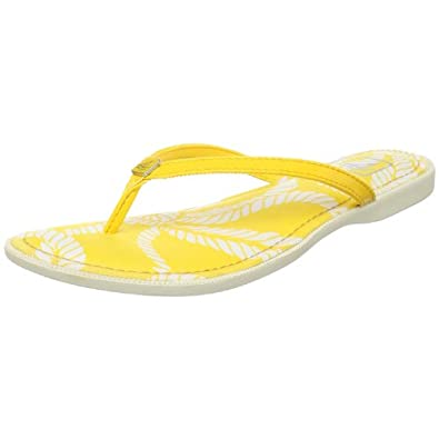 Sperry Top-Sider Women's South Beach Wedge Sandal,Yellow,5.5 M US