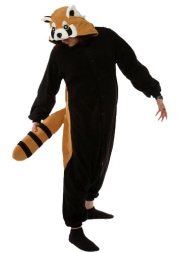 Red Panda Kigurumi - Adult Halloween Costume Pajama